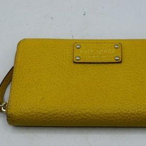 Kate Spade Yellow Wallet-Wristlet